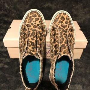 Blowfish leopard slip on's.